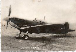 """R.A.F. Le """" SUPERMARINE SEAFIRE """"  -  CPSM - 1939-1945: 2ème Guerre"""