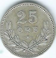 Sweden - 1937 - Gustav V - 25 Öre - KM785 - Suecia