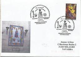 PEÑARROYA DE TASTAVINS TERUEL CC CON MAT RELIGION VIRGEN ROGATIVA - Christianity