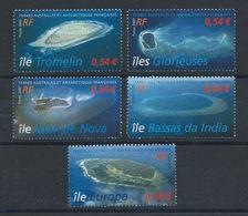 T.A.A.F. N°472/76** (MNH) 2007 - îles Éparses De L'océan Indien - Terres Australes Et Antarctiques Françaises (TAAF)