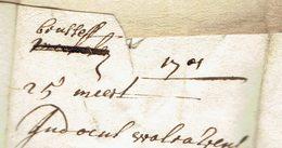 Lac  De  Brussel? (1er Scan ) 25 Maart 1701 => Antwerpen - 1621-1713 (Spaanse Nederlanden)