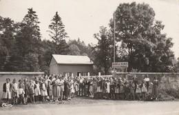 88 Etival : Colonie De Vacances Oeuvre Des Pupilles De L' Ecole Publique De La Moselle-La Maison Du Garde Et L'Entrée - Etival Clairefontaine