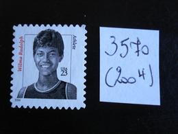 U.S.A. 2004 - Wilma Rudolph   - Y.T. 3570 - Oblitéré - Used - Used Stamps