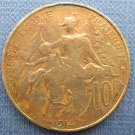 France  10 Centimes 1914 Dupuis - Francia