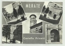 MERATE - CASTELLO PRINETTI  VIAGGIATA   FG - Lecco