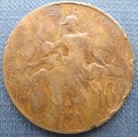 France  10 Centimes 1898 Dupuis - Francia