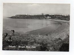 Calasetta (Carbonia-Iglesias) -  Spiaggia Punta Croce- Viaggiata Nel 1954 - (FDC21714) - Carbonia