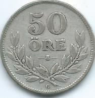 Sweden - 1931 - Gustav V - 50 Öre - KM788 - Sweden