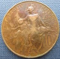 France  10 Centimes 1916 Dupuis - Francia