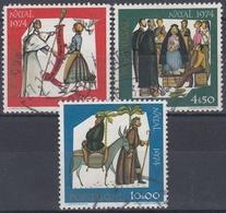 PORTUGAL 1974 Nº 1243/45 USADO - Used Stamps