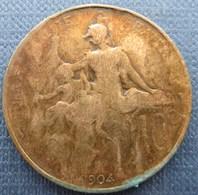 France  10 Centimes 1904 Dupuis - Francia