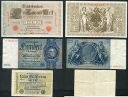 LOT DE 10 BILLETS - ALLEMAGNE - AUTRICHE -BULGARIE - CROATIE - POLOGNE - RUSSIE - Coins & Banknotes