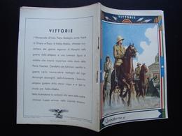 Quaderno Di Scuola Non Usato Vittorie  Badoglio Etiopia Anni '30 Boccasile - Vecchi Documenti
