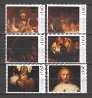 Guyana - MNH 3 Sets (3) PAINTINGS REMBRANDT (*) - Rembrandt