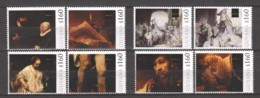 Guyana - MNH 4 Sets (5) PAINTINGS REMBRANDT (*) - Rembrandt