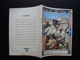 Quaderno Di Scuola Non Usato Vittorie  Dubat Bersaglieri  Anni '30 Boccasile - Vecchi Documenti