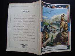 Quaderno Di Scuola Non Usato Vittorie Etiopia Storace PNF  Anni '30 Boccasile - Vecchi Documenti