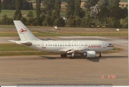 PHOTO AVION   AIRBUS A310 DDR-ABA INTERFLUG  1990    RETIRAGE REPRINT - Aviazione