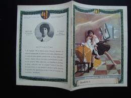 Quaderno Di Scuola Non Usato Giovinezze Eroiche Anni '30  Baldi Lidia Boccasile - Vecchi Documenti