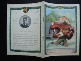 Quaderno Di Scuola Non Usato Giovinezze Eroiche Anni '30 Malleo Boccasile - Vecchi Documenti