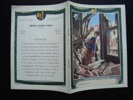 Quaderno Di Scuola Non Usato Giovinezze Eroiche Anni '30 Sbriscia Boccasile - Vecchi Documenti