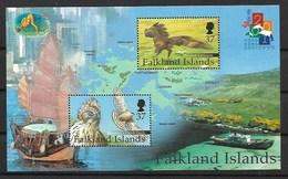 FALKLAND ISLANDS 2001 BIRD, EAGLES  MNH - Águilas & Aves De Presa