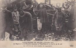 77-MELUN LA CATASTROPHE DE 1913 - Melun