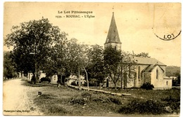 BOUSSAC- L'Eglise - Voir Scan - Francia