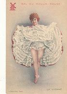 ILLUSTRATION - CHACHOIN / BAL DU MOULIN ROUGE    LA LIONNE - Illustrators & Photographers