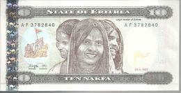 ERYTHREE 10 NAFKA 1997 UNC P 3 - Eritrea