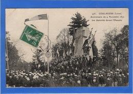 45 LOIRET - COULMIERS Anniversaire Du 9 Novembre 1870 - Coulmiers