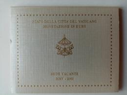 Coffret 8 Pièces De 1 Cent à 2 Euro 2005. Siège Vacant. UNC. - Vaticano