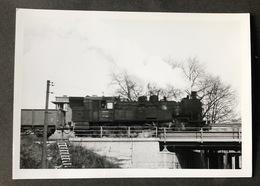 Usingen /Eine Der Letzten Dampflokomotive 93er Im Bahnhof Adlerhorst - Treni