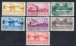 Serie Completa GUINEA Española 1949 Aerea, Paisajes Y Caudillo, Num 209-304 º/* - Guinea Española