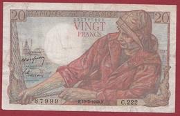 """20 Francs """"Pêcheur"""" Du 19/05/1949.F----TTB---ALPH .C.222 - 20 F 1942-1950 ''Pêcheur''"""