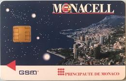 MONACO  -  Carte GSM  -  MONACELL (Spécimen) - Monaco