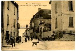 GOURDON - 2 Cartes - L'Hôpital - Avenue Gambetta - Voir Scans - Gourdon