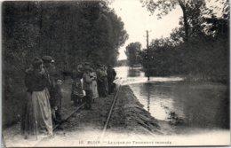 41 BLOIS - La Ligne Du Tramway Inondée - Blois