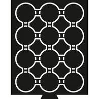 Münzbox Mit 12 Fächern Für CAPSPI 41, Rauchfarben Mit Schwarzer Einlage - Zubehör