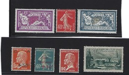 Petit Lot De 7 Timbres Neufs Sur Charnière Du N° 123 Au N° 394 Pour Un Cote De 246 Euros - Collezioni