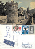 Finalborgo (SV). Vecchie Mura. Viaggiata 1962 - Autres Villes