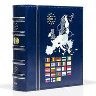 Münzalbum VISTA, Euro-Jahrgang 2020, Inkl. Schutzkassette, Blau - Zubehör
