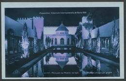 Exposition Coloniale Internationale Paris 1931 - La Nuit - Pavillon Du Maroc - Edit. Braun & Cie N°2076f - Mostre
