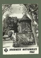 CARTE POSTALE SCOUTE SCOUTISME JOURNEES NATIONALES 1961 JAMBVILLE LE PIGEONNIER - Scouting