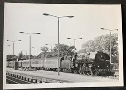 Stralsund Lokomotive Mit Wagen DB/ 1974. Nikolai Walter - Treni