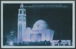Exposition Coloniale Internationale Paris 1931 - La Nuit - Pavillon De L'Algérie - Edit. Braun & Cie N°2097 - Mostre