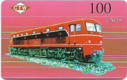 Korea North (NEAT & T) Trains, Dieseltrain 4101 - 1LOXIYC - 100Units, 5.500ex, Mint - Korea (Noord)