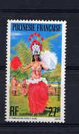 Polynésie  -  1977  -  Avion  :  Yv  124  ** - Poste Aérienne