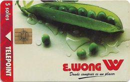 Peru - Telepoint - E.Wong Peas, 04.1997, 30.000ex, Used - Pérou