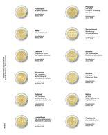 Lindner MU2E24 Multi Collect Vordruckblatt Für 2 Euro-Gedenkmünzen: FRANKREICH 2019-2020 - Zubehör